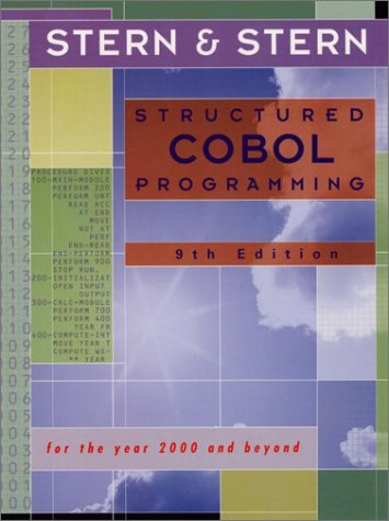 9780471362487: Structured Cobol Programming: For the Year 2000 and Beyond