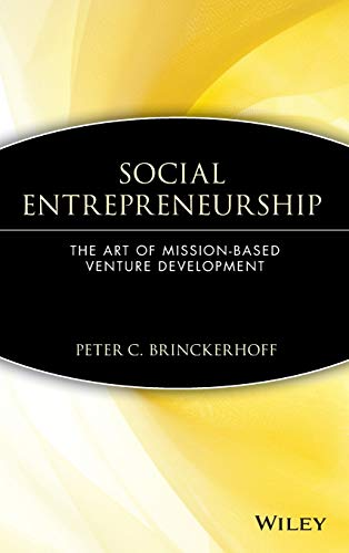 9780471362821: Social Entrepreneurship : The Art of Mission-Based Venture Development