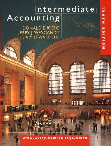 9780471363040: Intermediate Accounting, 10th Edition