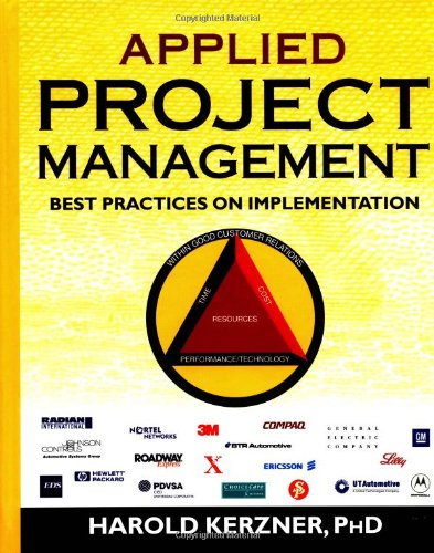 9780471363521: Applied Project Management: Best Practices on Implementation