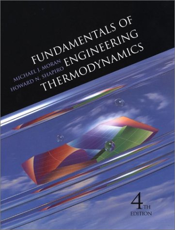 Thermodynamics 4th Edition with IT Software CD-ROM 2.0 Set (9780471363613) by Michael J. Moran