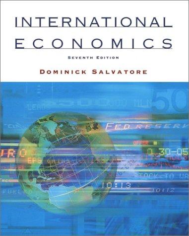 9780471364474: International Economics