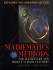9780471365174: Mathematics Methods for Elementary and Middle School Teachers, 3rd Edition