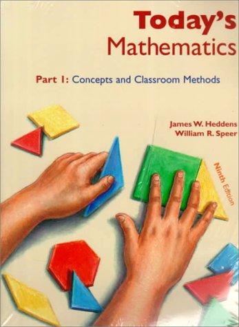 9780471365303: Today's Mathematics, Parts 1 & 2, 9th Edition