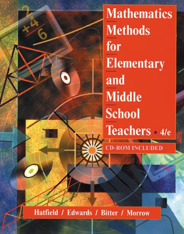 9780471365440: Mathematics Methods for Elementary and Middle School Teachers, 4th Edition