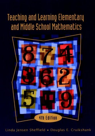 9780471365464: Teaching and Learning Elementary and Middle School Mathematics, 4th Edition