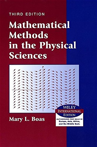 9780471365808: Mathematical Methods in the Physical Sciences Wie