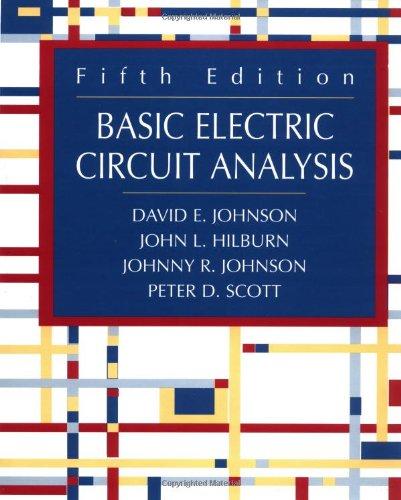 9780471365839: Basic Electric Circuit Analysis