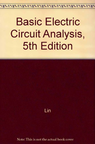 9780471365877: Basic Electric Circuit Analysis: Student Problem Set With Solutions