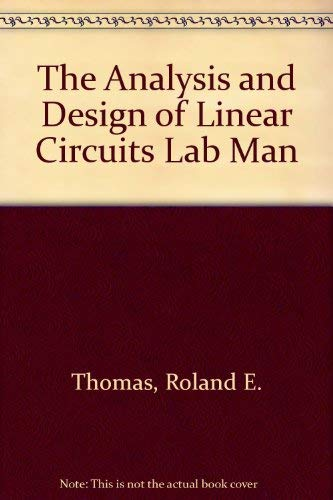9780471365945: Analysis and Design of Linear Circuits, 2nd Edition