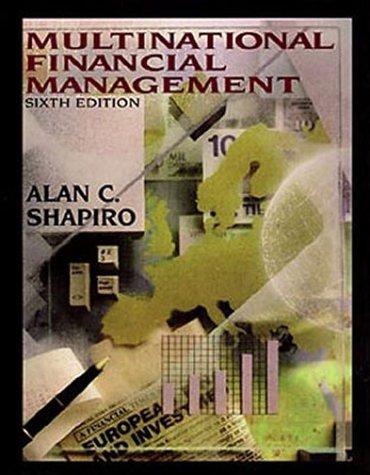 9780471366102: Multinational Financial Management