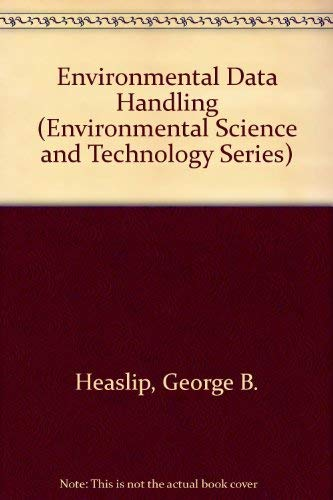9780471366720: Environmental Data Handling (Environmental Science and Technology Series)