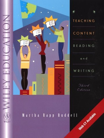 9780471366744: Teaching Content Reading and Writing, 3rd Edition