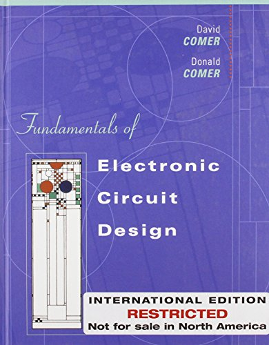 9780471366966: Fundamentals of Electronic Circuit Design