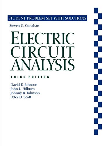 electric circuit analysis 2nd edition johnson solution manual