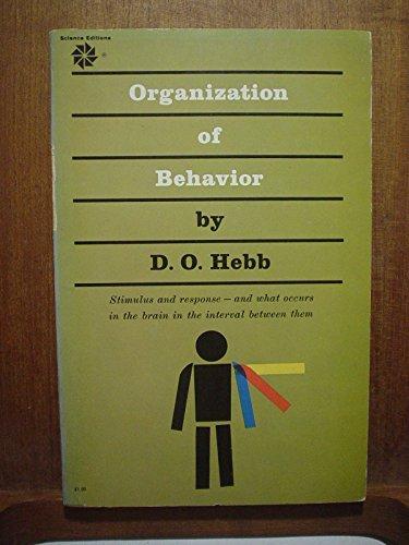 9780471367277: The Organization of Behaviour