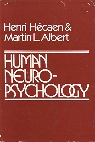 9780471367352: Human Neuropsychology