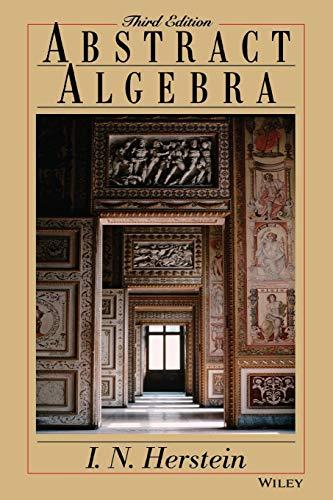 9780471368793: Abstract Algebra