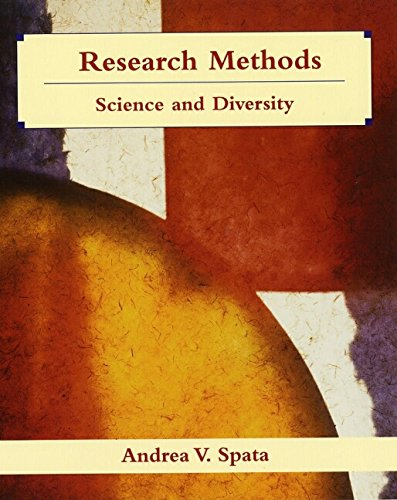 9780471369127: Research Methods in Psychology: Science and Diversity