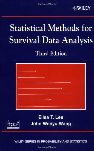 9780471369974: Statistical Methods for Survival Data Analysis