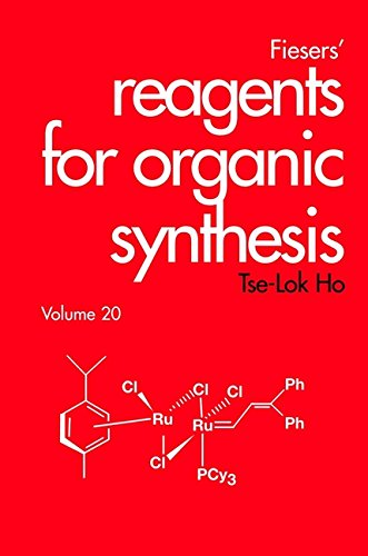 Reagents for Organic Synthesis: v. 20 (Fiesers': Tse-Lok Ho