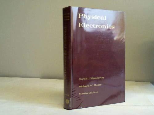 9780471370031: Physical Electronics