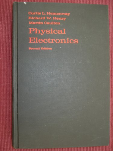 9780471370055: Physical Electronics