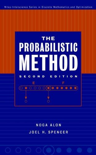 9780471370468: The Probabilistic Method (Wiley Series in Discrete Mathematics and Optimization)