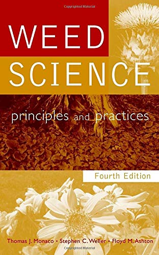 9780471370512: Weed Science: Principles and Practices, 4th Edition
