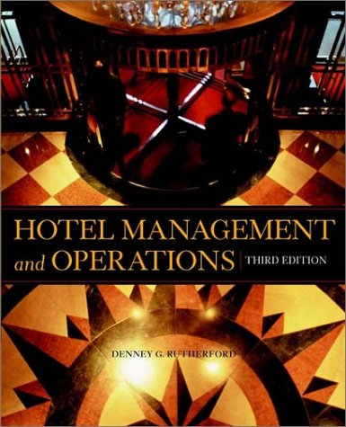 9780471370529: Hotel Management and Operations, 3rd Edition