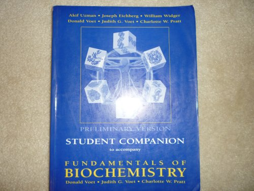 9780471371212: Fundamentals of Biochemistry