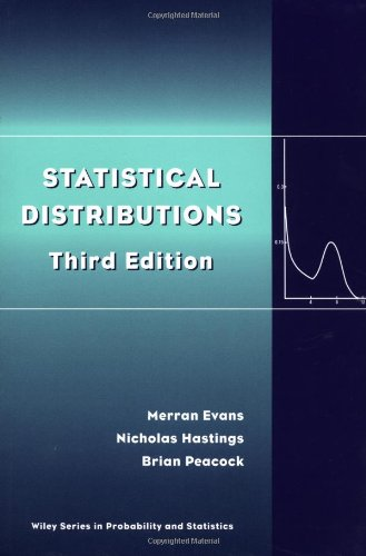 9780471371243: Statistical Distributions