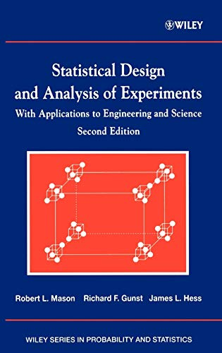 9780471372165: Statistical Design and Analysis of Experiments, with Applications to Engineering and Science