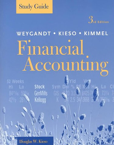 9780471372660: Financial Accounting, 3rd Edition