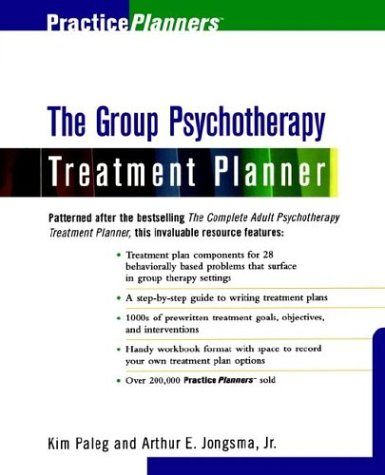 9780471374497: The Group Therapy Treatment Planner (PracticePlanners)