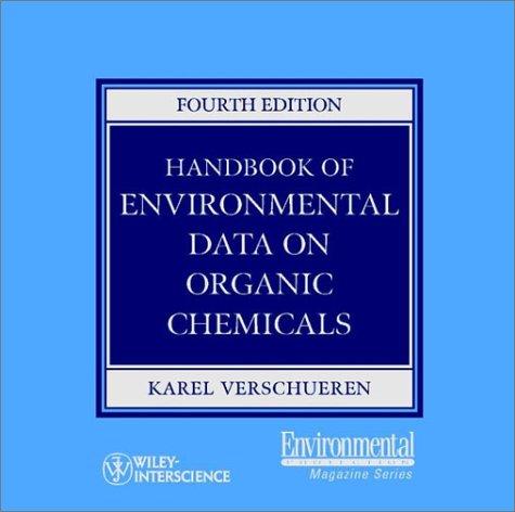 9780471374886: Handbook of Environmental Data on Organic Chemicals (with CD-ROM)