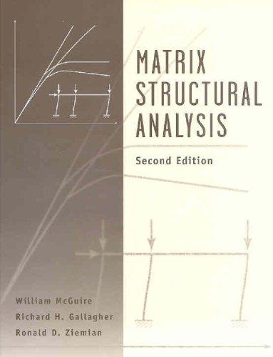 9780471376514: Matrix Structural Analysis, With MASTAN2