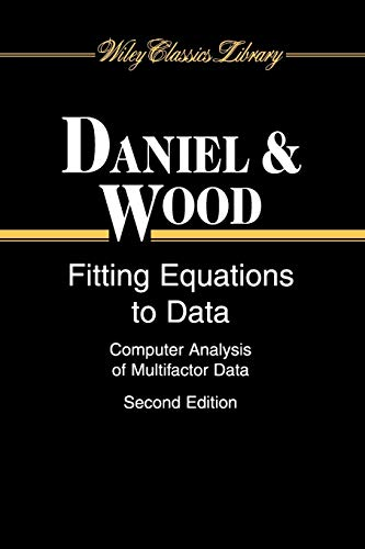 9780471376842: Fitting Equations to Data: Computer Analysis of Multifactor Data