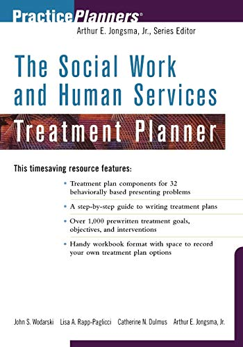 9780471377412: The Social Work and Human Services Treatment Planner