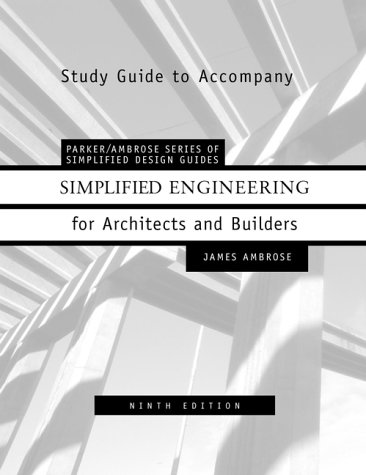 9780471379195: Simplified Engineering for Architects and Builders, Study Manual, 9th Edition