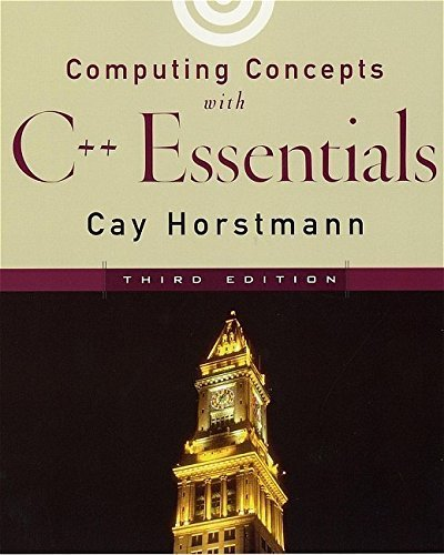 9780471379508: Computing Concepts with C++ Essentials