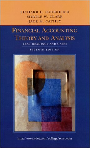 9780471379546: Financial Accounting Theory and Analysis: Text Reading and Cases