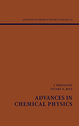 Advances In Chemical Physics Volume 112 (Hb