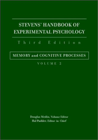 9780471380306: Stevens' Handbook of Experimental Psychology: Memory and Cognitive Processes
