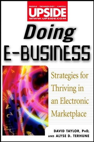Doing eBusiness: Thriving in an Electronic Marketplace: David Taylor; Alyse D. Terhune