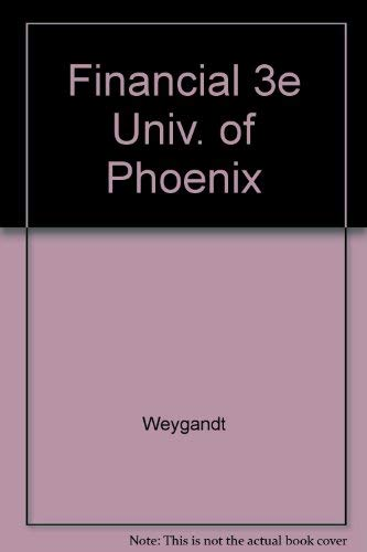 9780471380832: Financial 3e Univ. of Phoenix