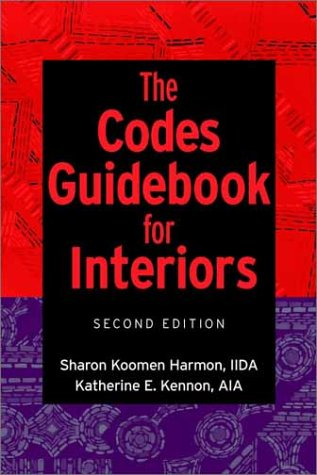 9780471381341: The Codes Guidebook for Interiors