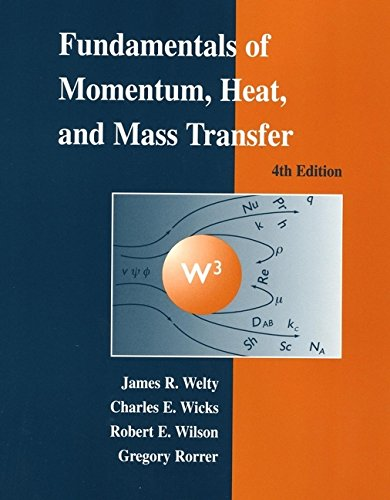 Fundamentals of Momentum, Heat, and Mass Transfer: Welty, James, Wicks,