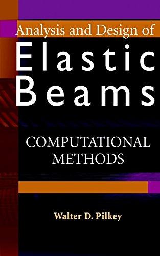9780471381525: Analysis and Design of Elastic Beams: Computational Methods