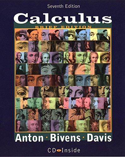 9780471381556: Calculus, 7th Edition, Late Transcendentals Brief Version